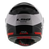 LS2 FF353 Rapid Ghost gloss white black red_