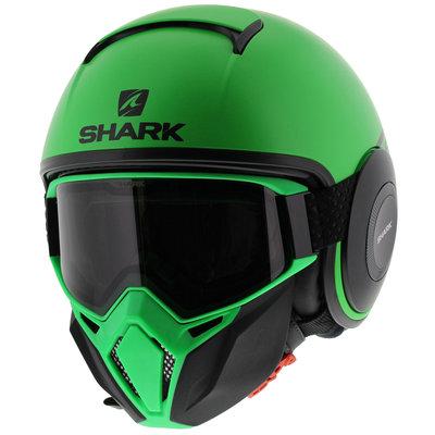 Shark Street Drak Neon Serie - Matt Green Black