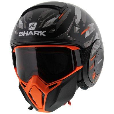 Shark Street Drak Kanhji Matt Black Orange