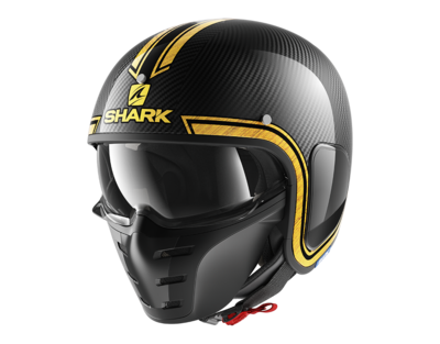Shark S-Drak Vinta carbon yellow