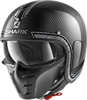 Shark S-Drak Vinta carbon chrome silver