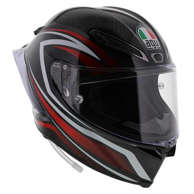 AGV Pista GP R Staccata - Black Red White