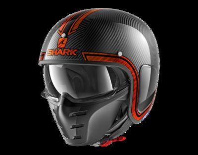 Shark S-Drak Vinta carbon orange