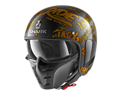 Shark S-Drak Carbon Freestyle Cup yellow