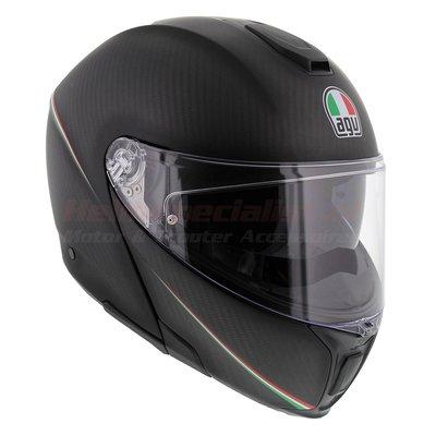 AGV Sports Modular Tricolore Matt Carbon Italy - Sportmodular