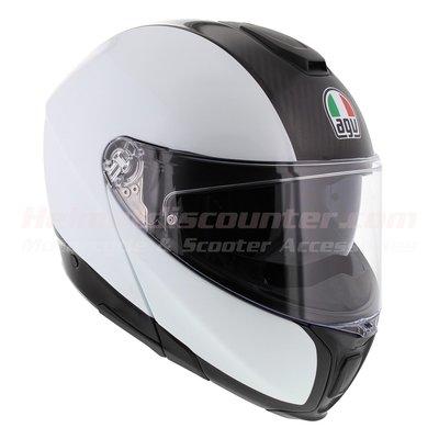 AGV Sports Modular Carbon White Mono - Sportmodular