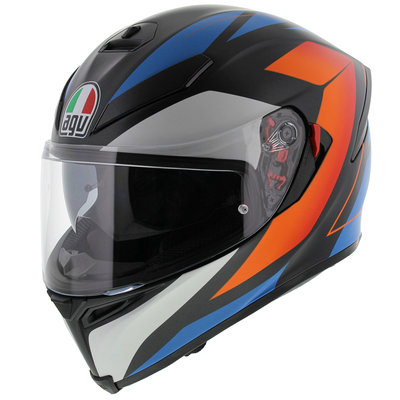AGV K5-S Core Matt Black Blue Orange - GT4
