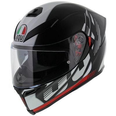 AGV K5-S Darkstorm Matt Black Red GT4