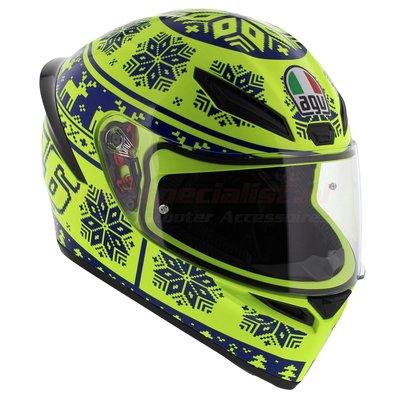 AGV K1 Rossi Wintertest 2015