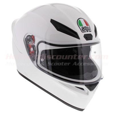 AGV K1 gloss white