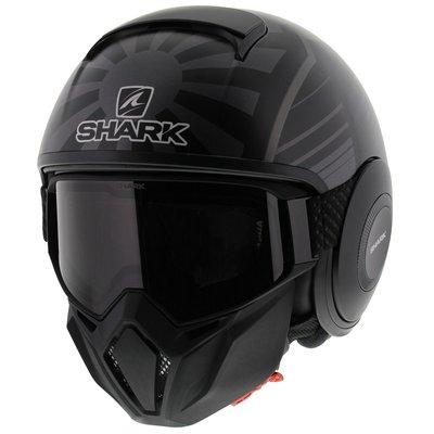 6592ae98 Shark Street Drak Zarco Malaysia GP Matt Black Anthracite